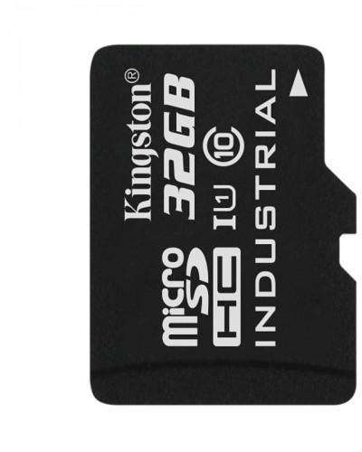 Card de memorie Kingston Micro SDHC 32GB UHS-I Industrial Temp Adapter