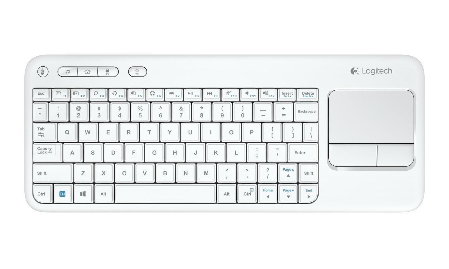 Tastatura Logitech K400 Plus Wireless Touch White