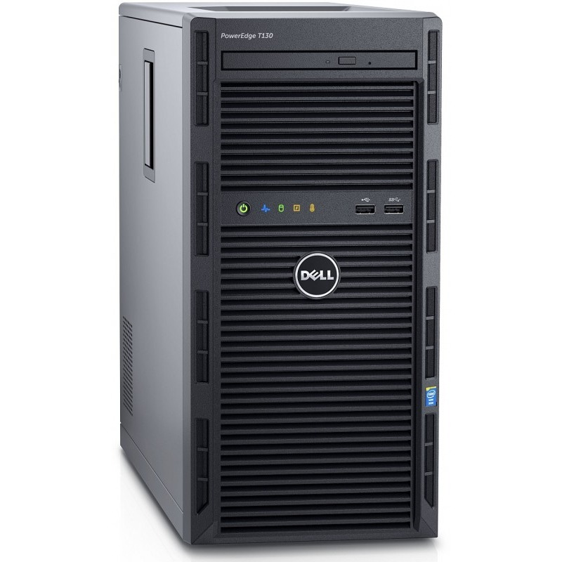 Server Dell PowerEdge T130 Procesor Intel Xeon E3-1230v5 1TB 8GB