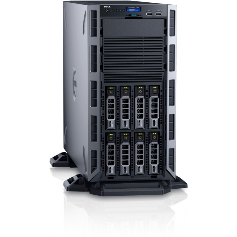 Server Dell PowerEdge T330 Procesor Intel Xeon E3-1270v5 1TB 8GB Dual Hot Plug 495W