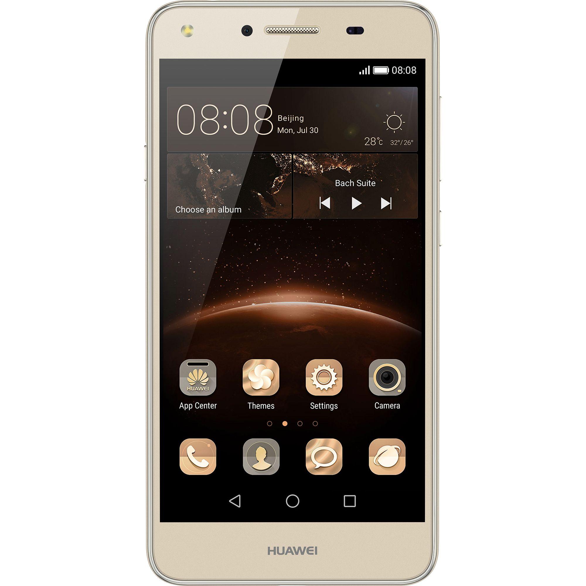 Telefon Mobil Huawei Y5 II 8GB Dual SIM 4G Gold