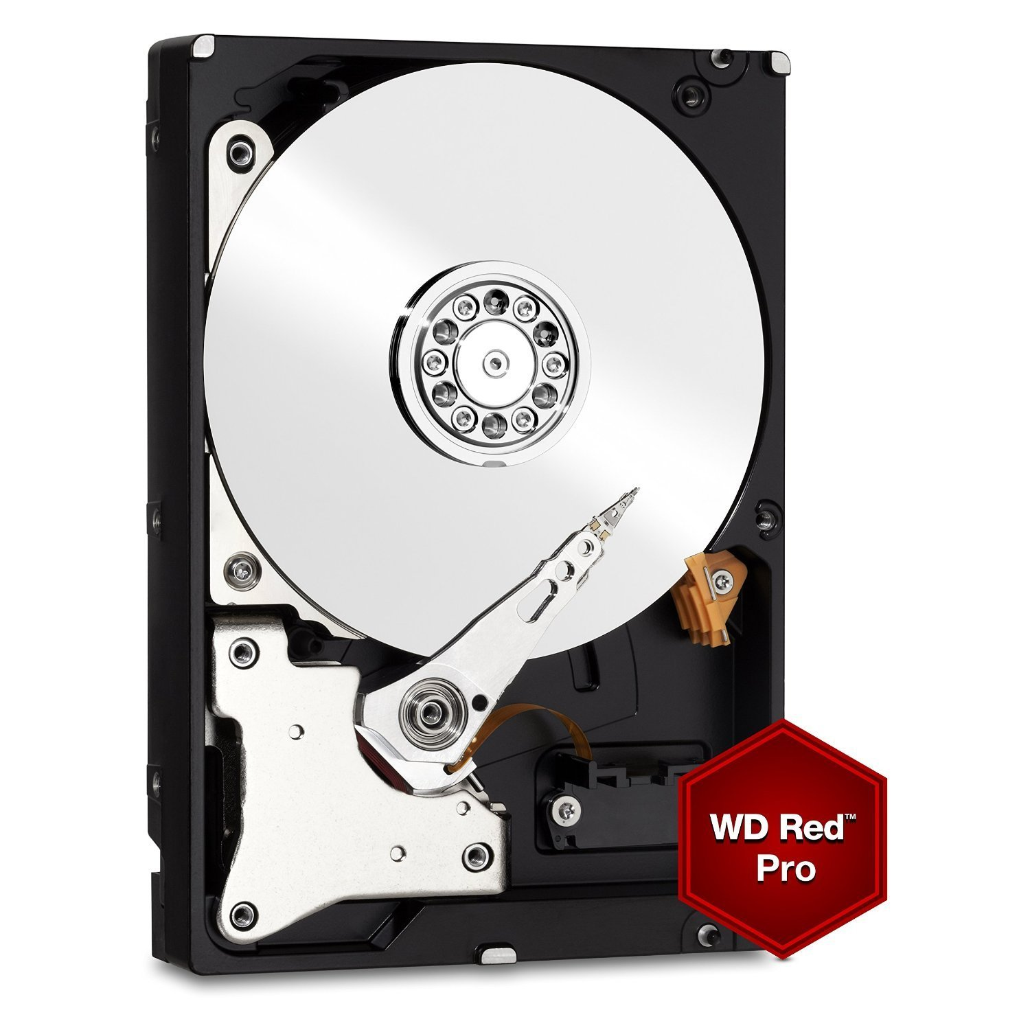 Hard Disk Desktop Western Digital Red Pro 3.5 2TB 64MB SATA III