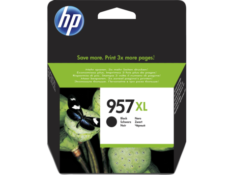 Cartus inkjet HP 957XL Black 3000 pagini