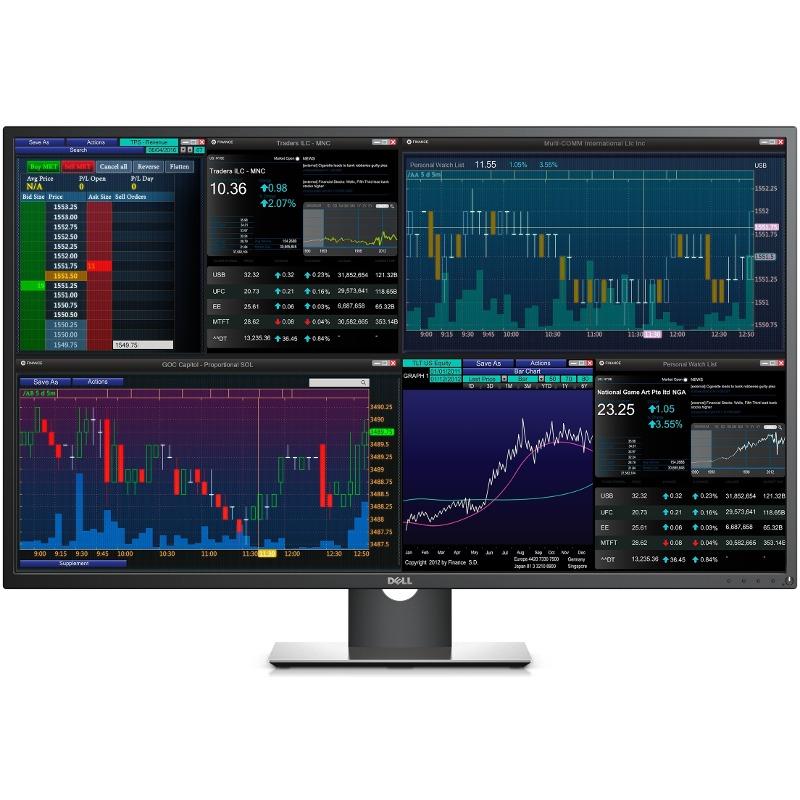 Monitor LED Dell P4317Q 43 inch UHD Black