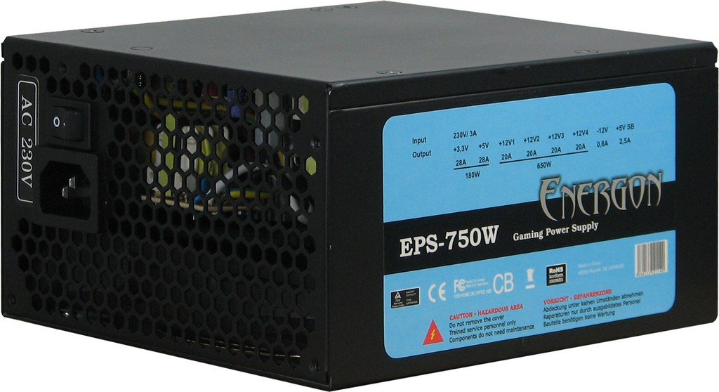Sursa PC Inter-Tech Energon EPS-750 750W