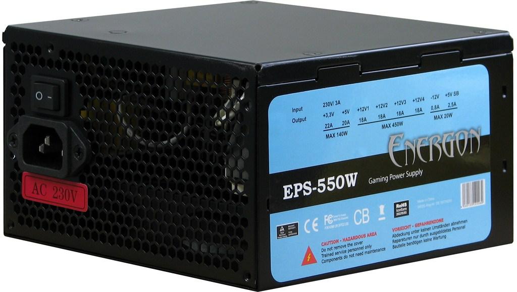 Sursa PC Inter-Tech Energon EPS-550 550W