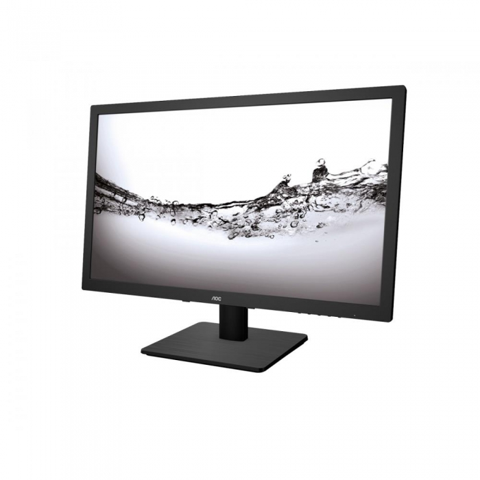 Monitor LED AOC E2275SWJ 21.5 inch Full HD Black
