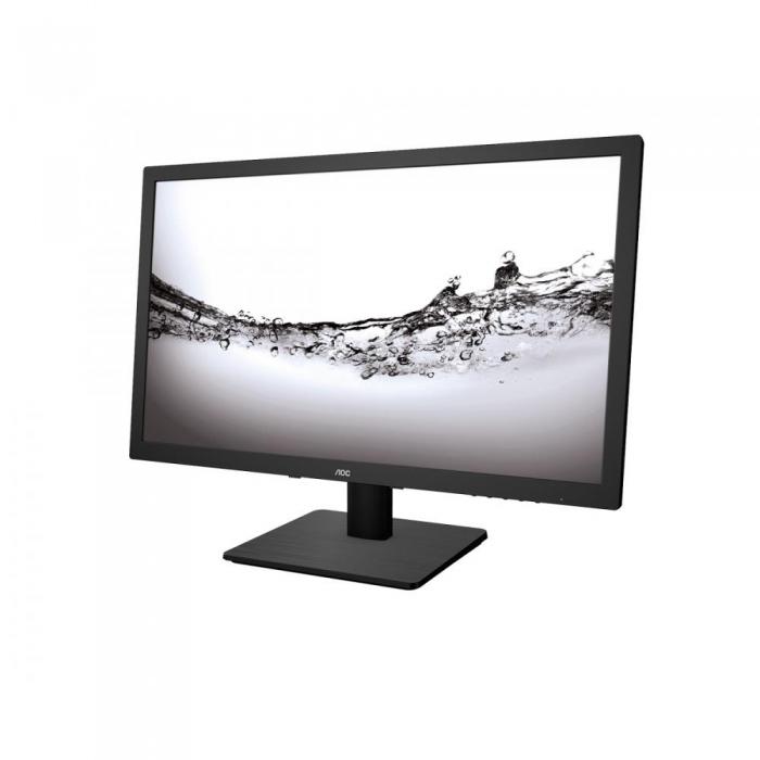 Monitor LED AOC E2275PWJ 21.5 inch Full HD Black
