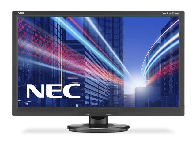 Monitor LED AccuSync NEC AS242W 24 inch Full HD Black