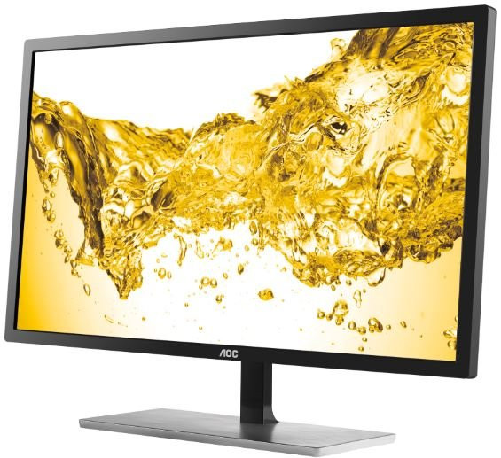 Monitor LED AOC U2879VF 28 inch 4K 1ms Black