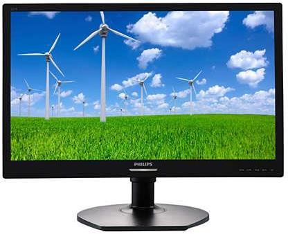 Monitor LED Philips 221S6LCB 21.5 inch Full HD Black