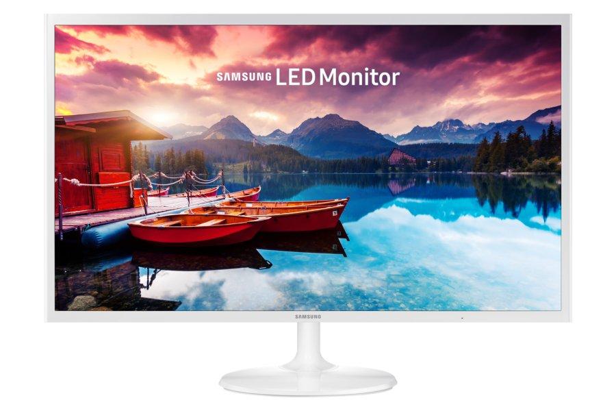 Monitor LED Samsung S32F351FUU 31.5 inch Full HD White