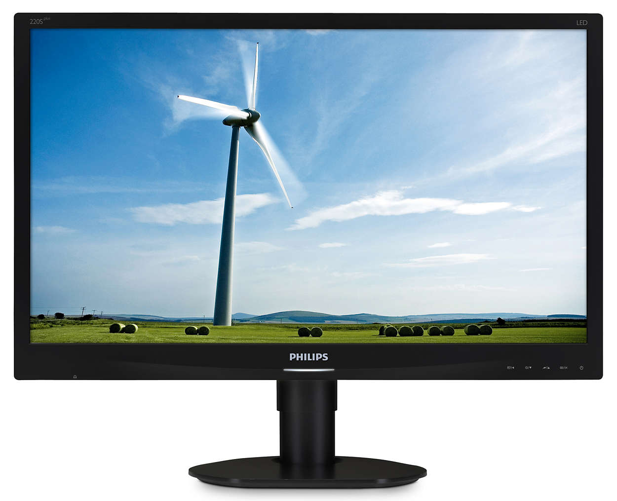 Monitor LED Philips 220S4LYCB 22 inch WSXGA Black