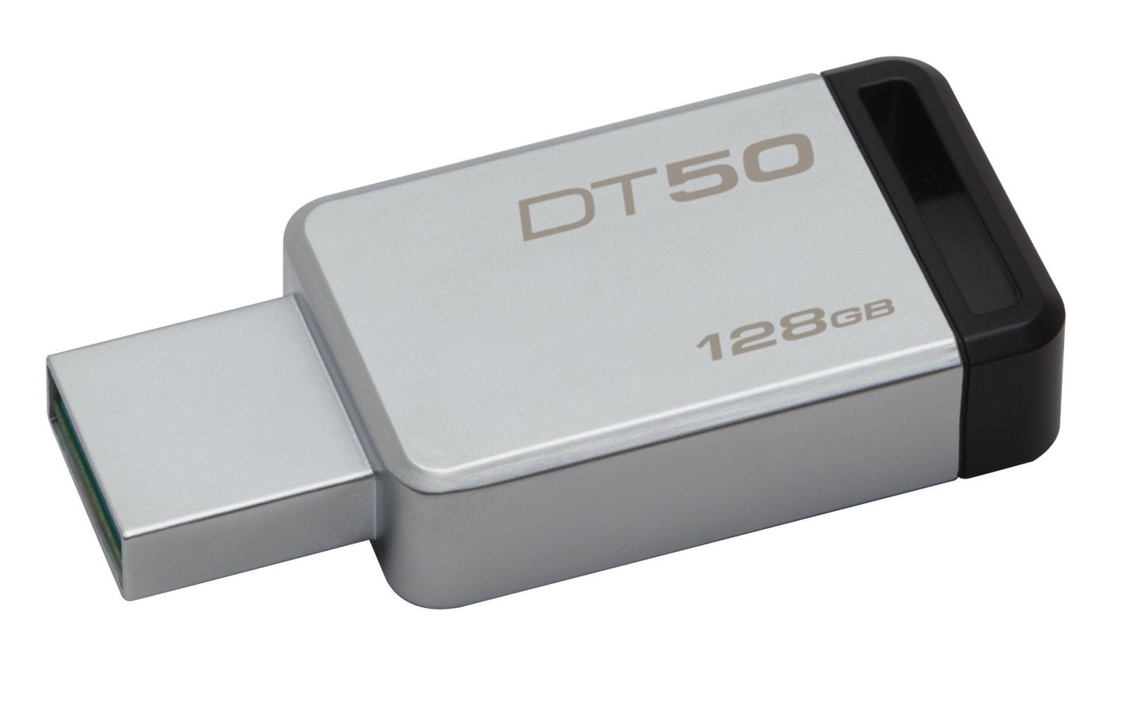 Flash Drive Kingston Data Traveler 50 128GB USB 3.0 Metal/Black