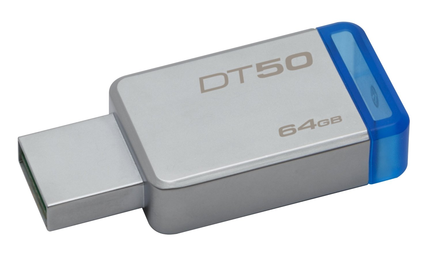 Flash Drive Kingston Data Traveler 50 64GB USB 3.0 Metal/Blue