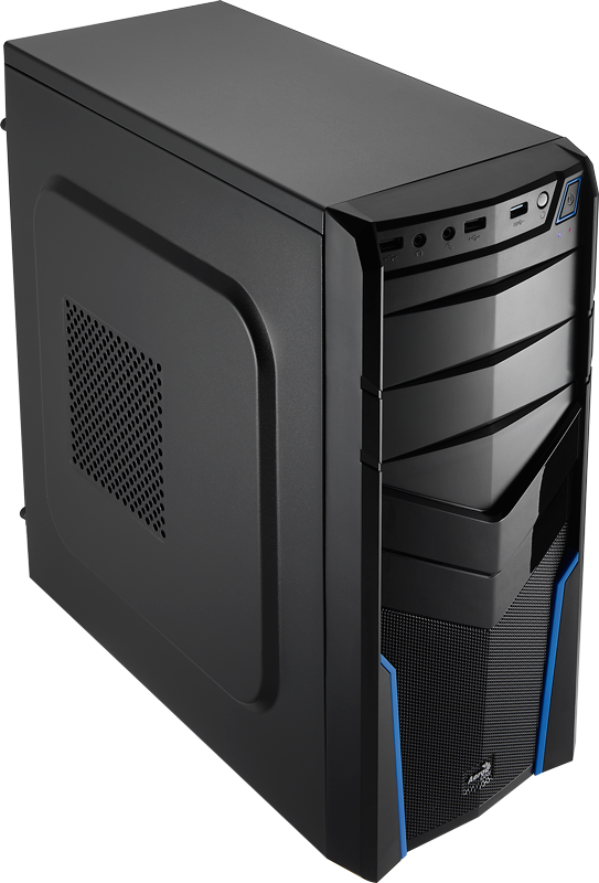 Carcasa PC Aerocool PGS V2X Black/Blue