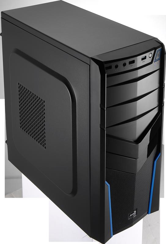 Carcasa PC Aerocool PGS V2X Black/Blue