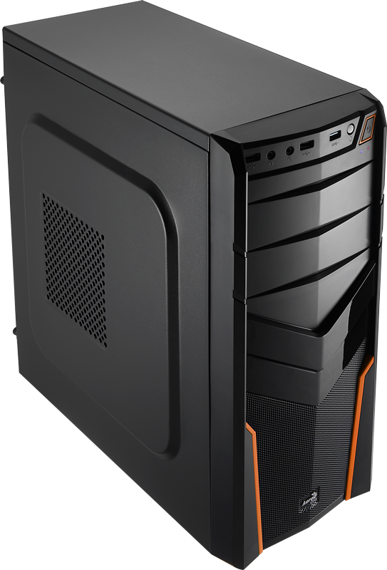 Carcasa PC Aerocool PGS V2X Black/Orange