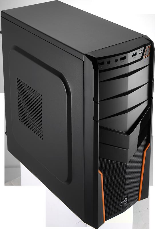 Carcasa PC Aerocool PGS V2X Black/Orange