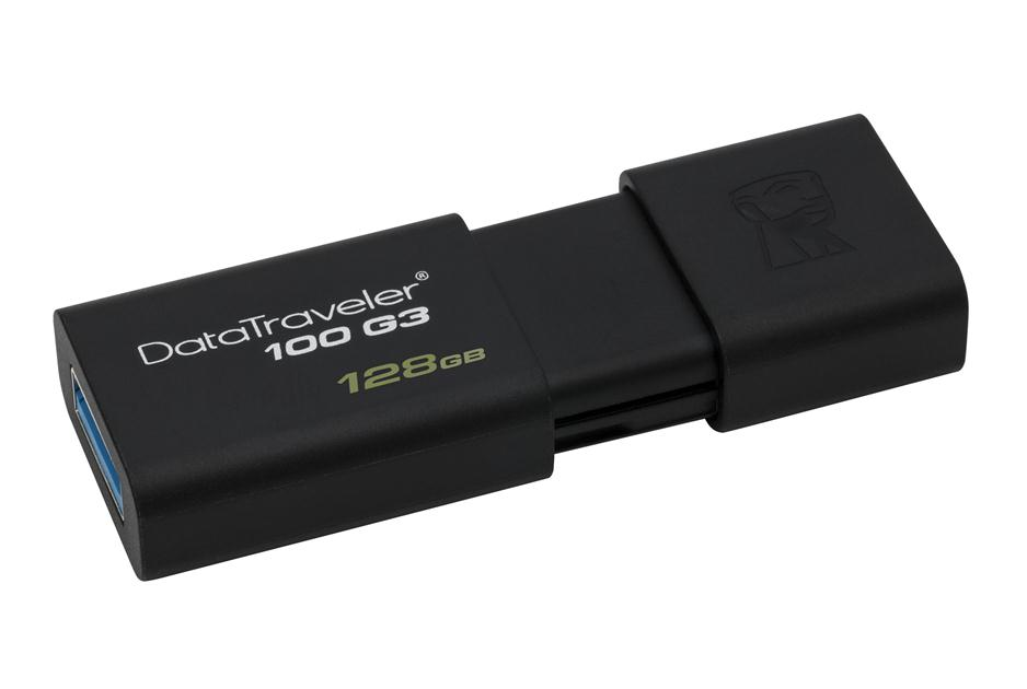 Flash Drive Kingston DataTraveler 100 G3 128GB USB 3.0