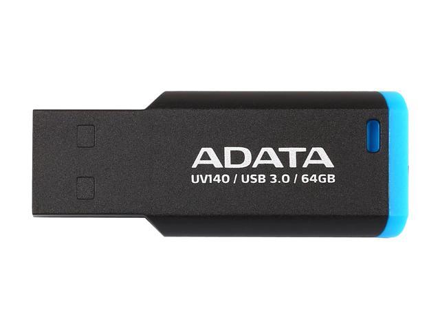Flash Drive Adata UV140 64GB USB 3.0 Black/Blue