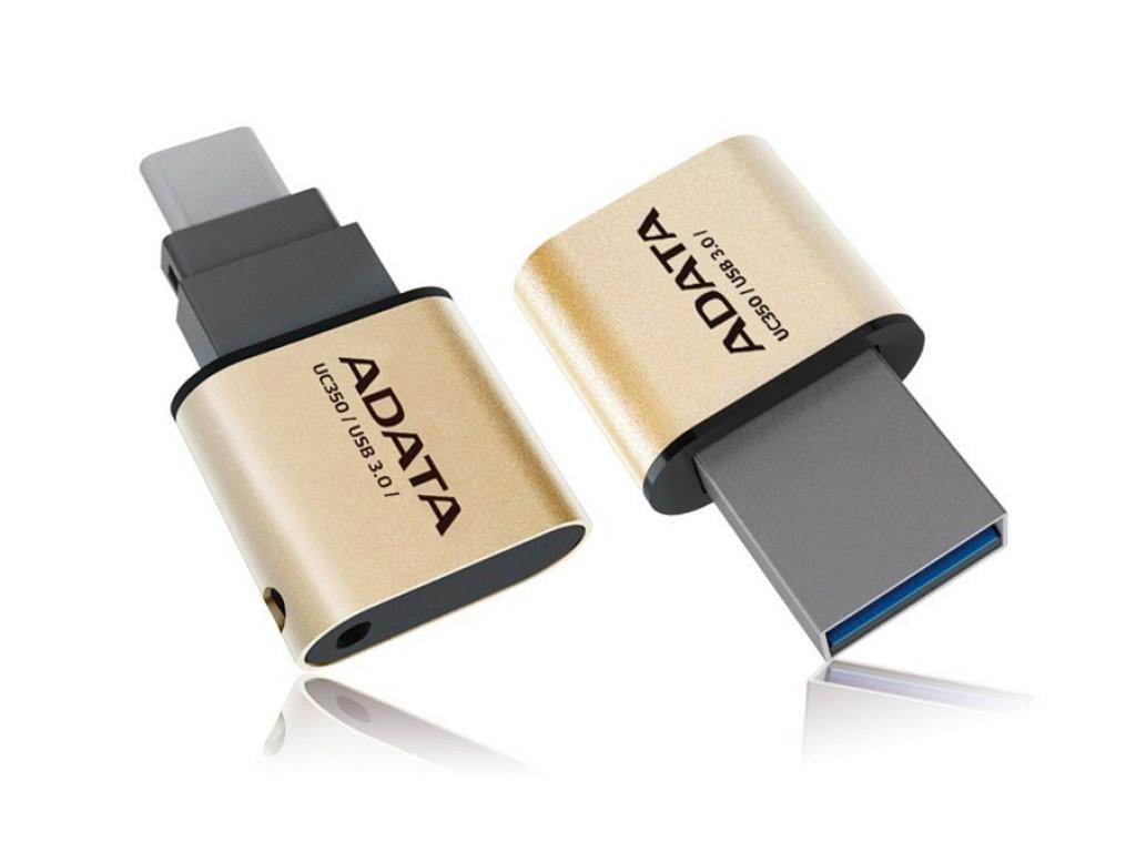 Flash Drive Adata DashDrive UC350 64GB USB 3.0 Gold