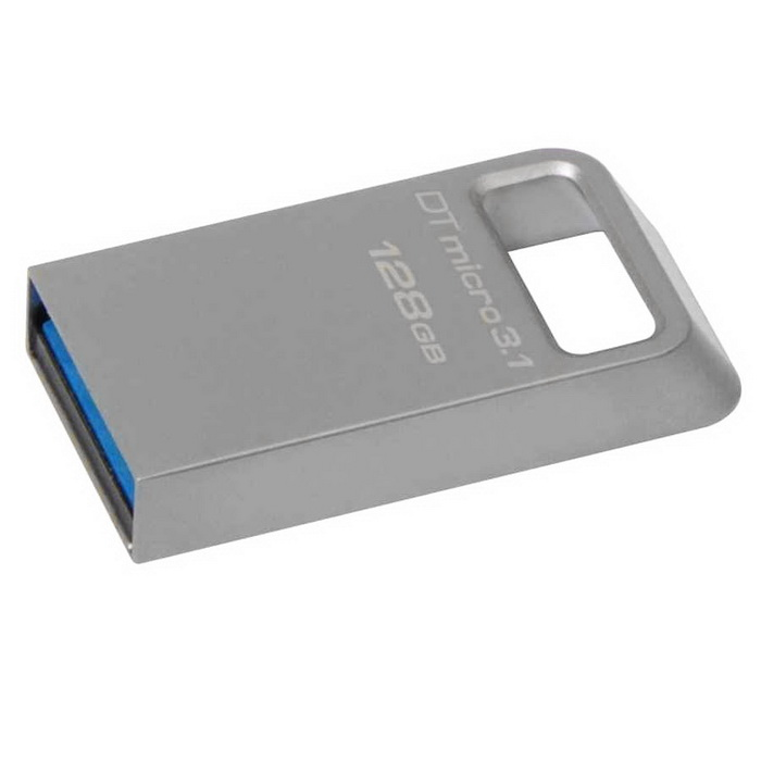 Flash Drive Kingston DTMicro 128GB USB 3.1 Metal Ultra