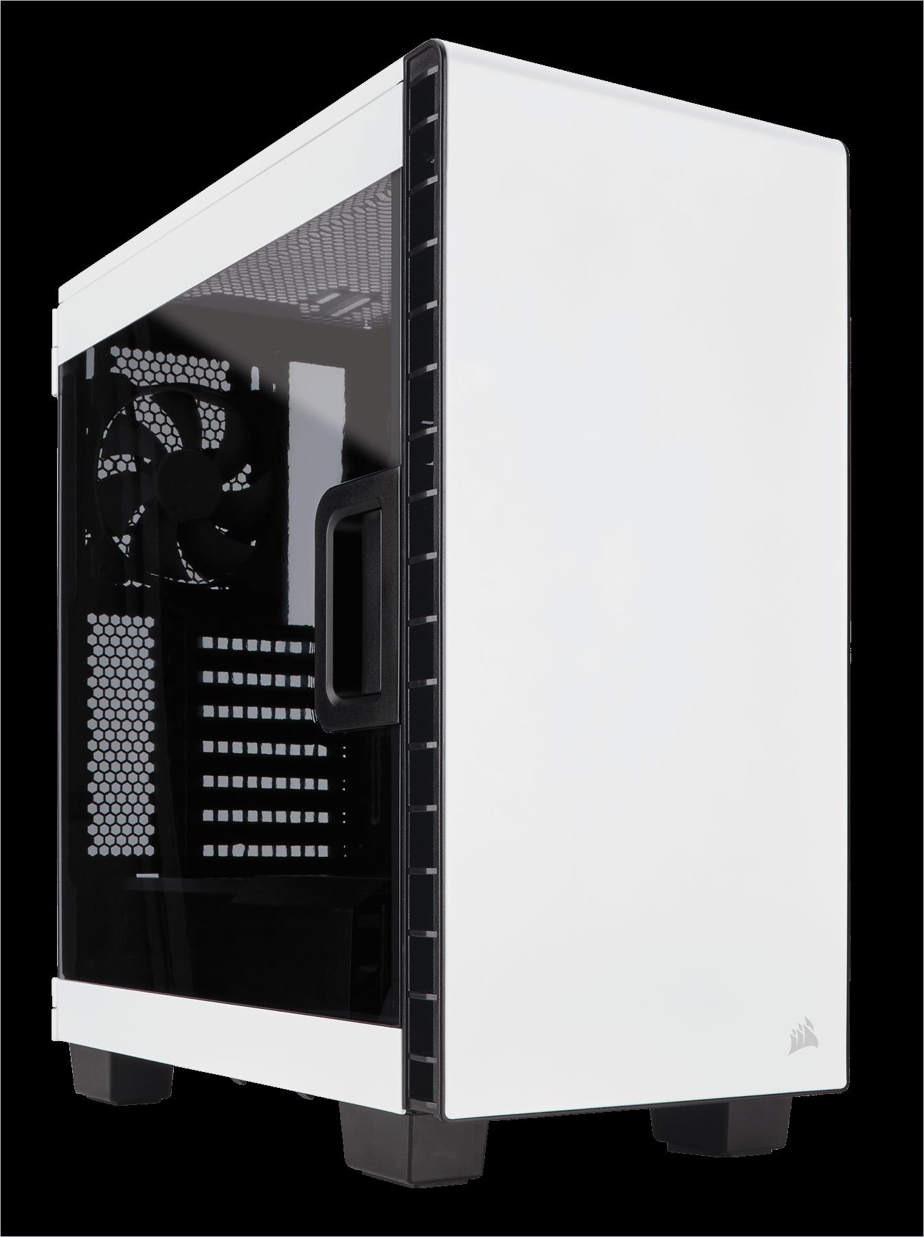 Carcasa PC Corsair Carbide Clear 400C White