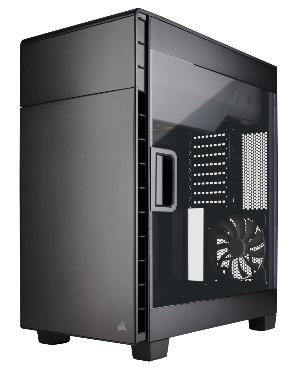 Carcasa PC Corsair Carbide Clear 600C Inverse Black