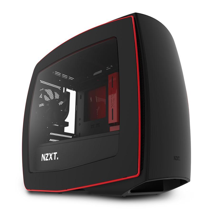 Carcasa PC NZXT Manta Matte Black/Red