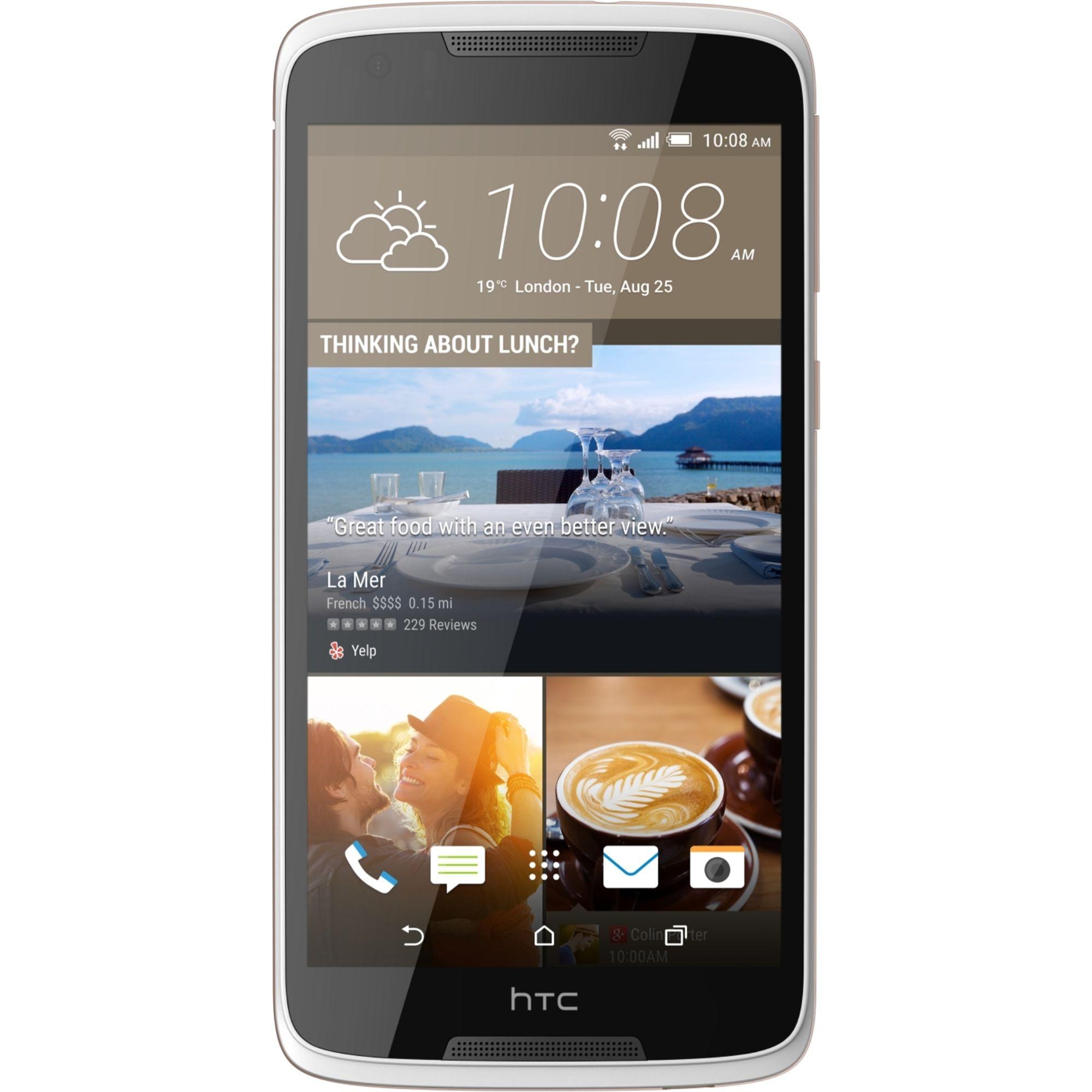 Telefon Mobil HTC Desire 828 16GB Single SIM 4G Pearl White