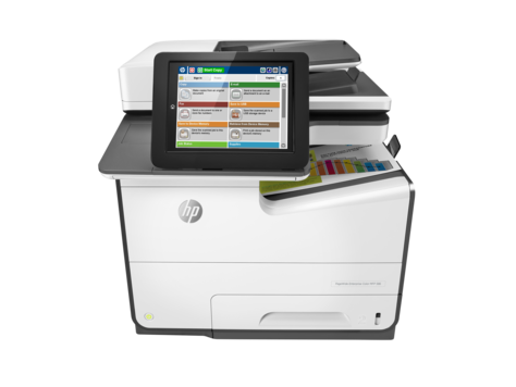 Imprimanta Laser Color HP PageWide 586F