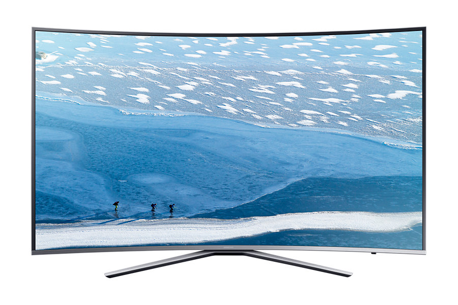 Televizor LED Samsung Smart TV UE49KU6502 Curbat 49 4K Argintiu