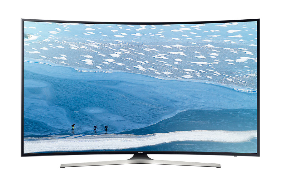 Televizor LED Samsung Smart TV UE49KU6172 Curbat 49 4K Negru