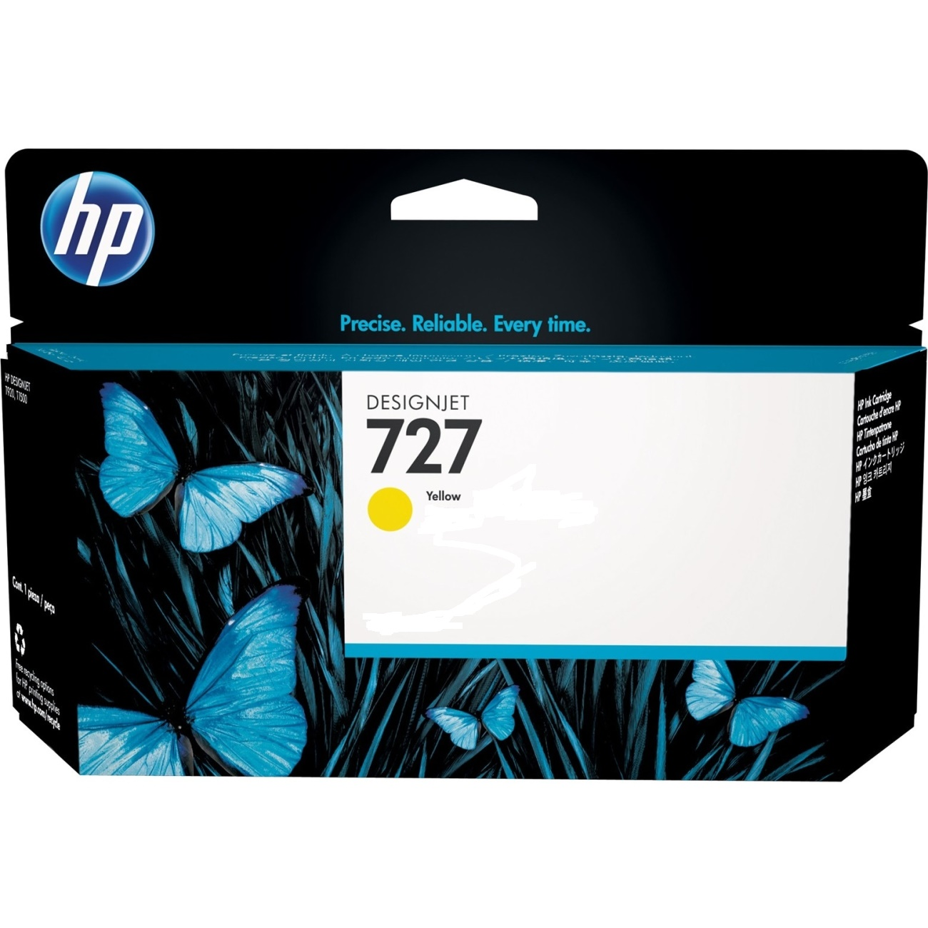 Cartus inkjet HP 727 Yellow 300 ml