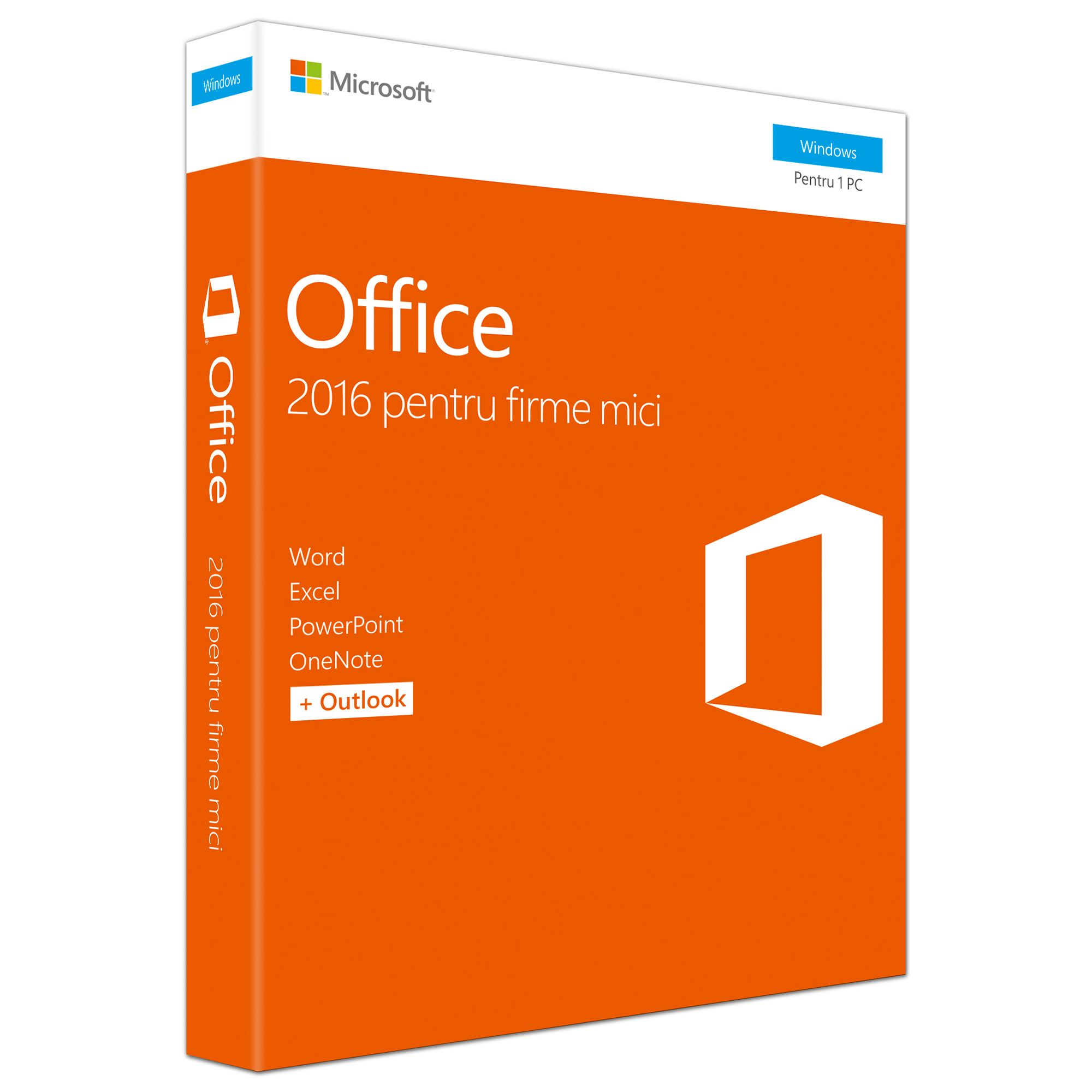Microsoft Office Home & Business 2016 Romana EuroZone Medialess P2