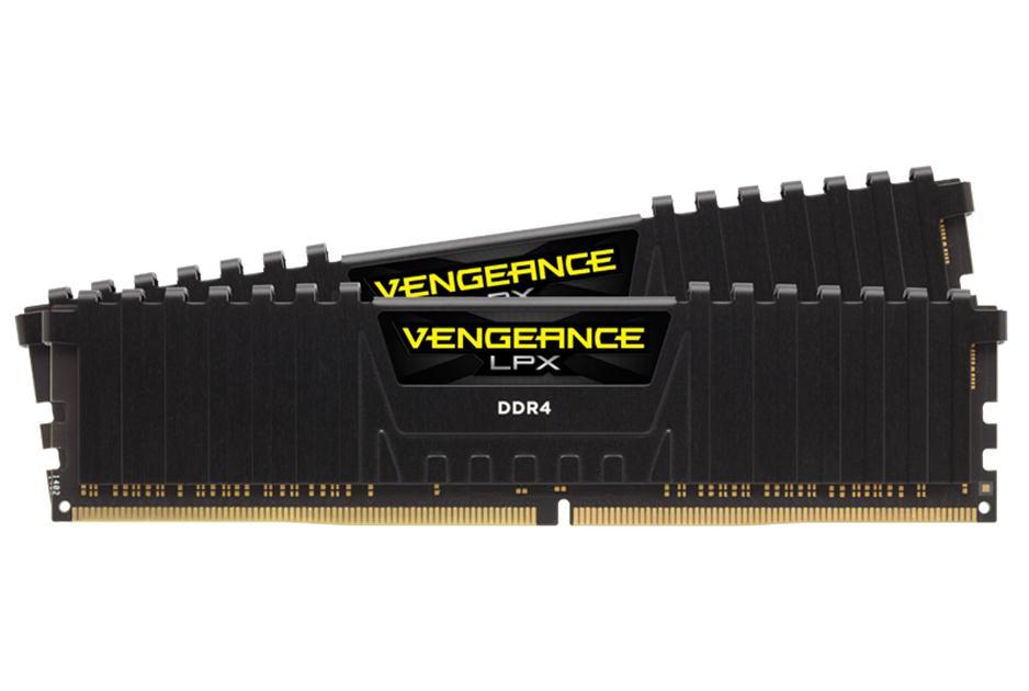 Memorie Desktop Corsair Vengeance LPX Black 8GB (2 x 4GB) DDR4 2133 MHz