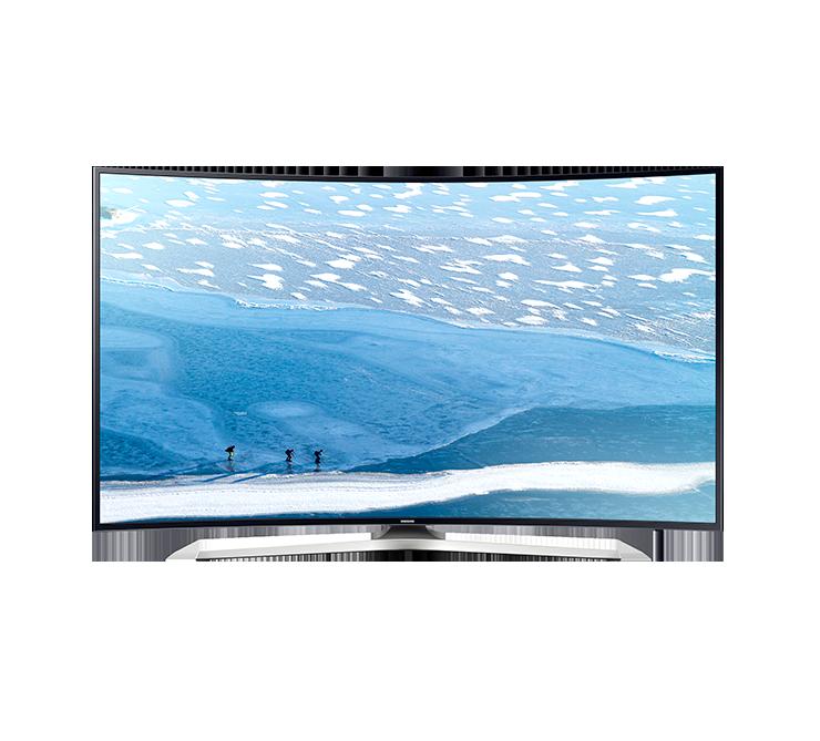 Televizor LED Samsung Smart TV UE65KU6172 Curbat 65 4K Negru