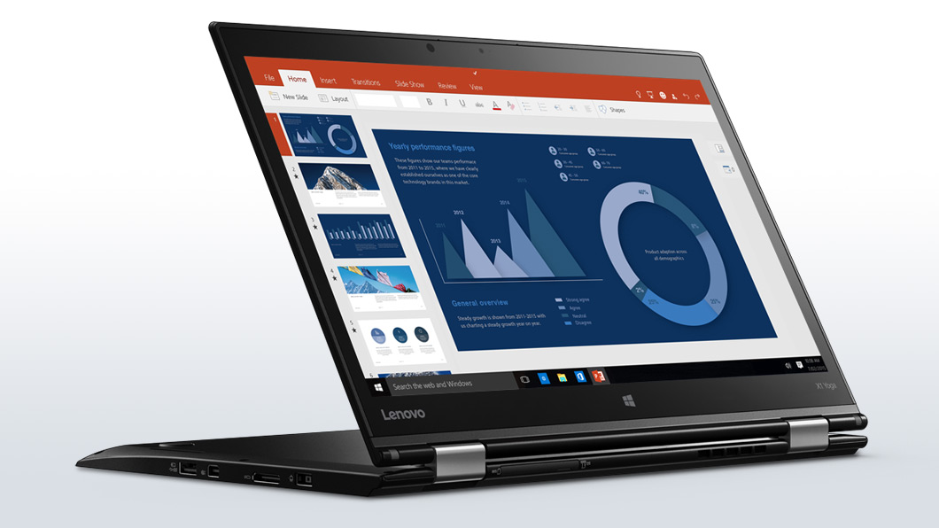 Ultrabook Lenovo ThinkPad X1 Yoga 14 WQHD Touch Intel Core i5-6200U RAM 8GB SSD 256GB 4G Windows 10 Pro