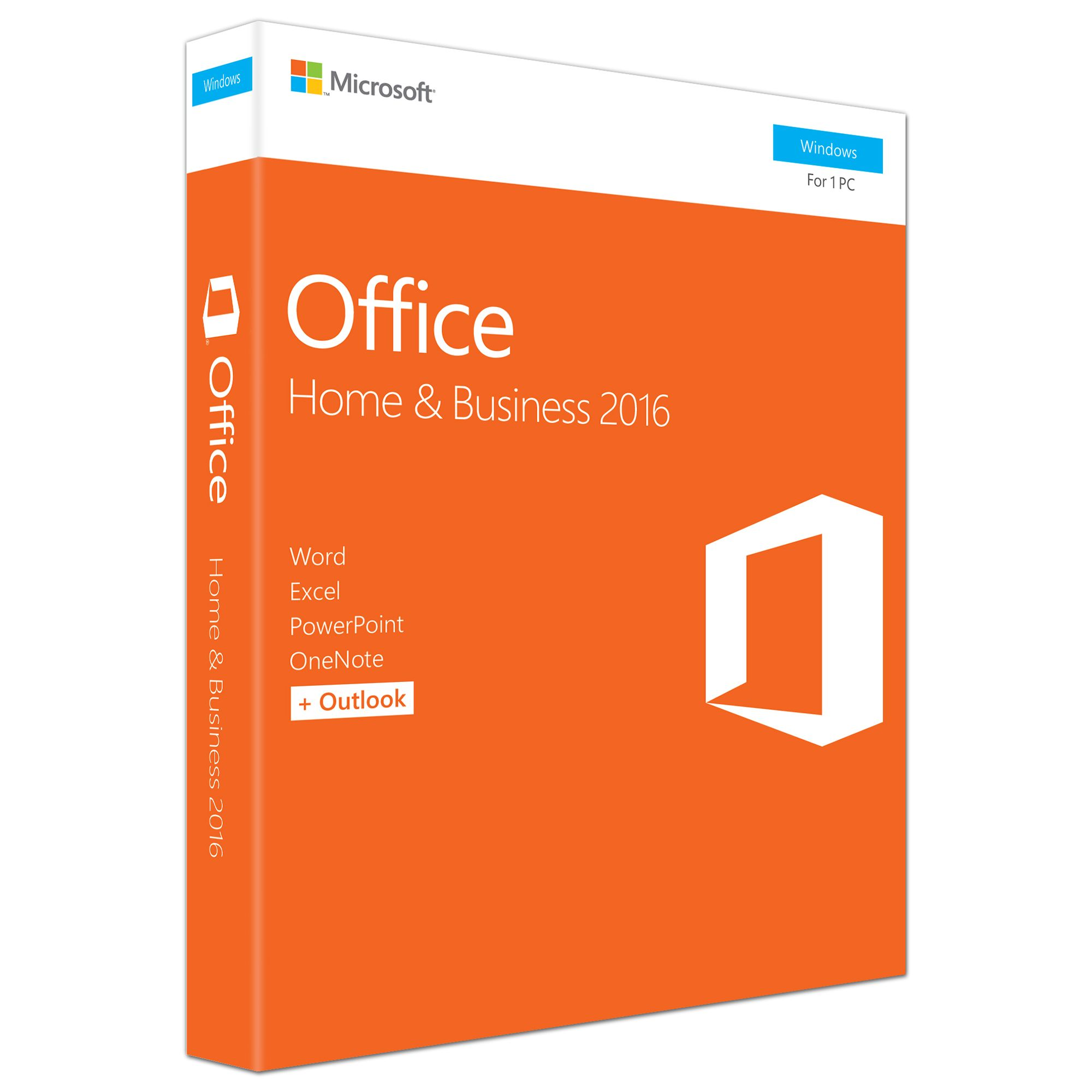 Microsoft Office Home & Business 2016 Engleza EuroZone Medialess P2