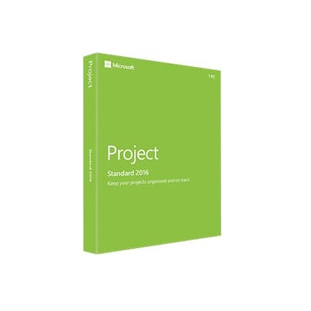 Microsoft Project Standard 2016 Engleza Medialess