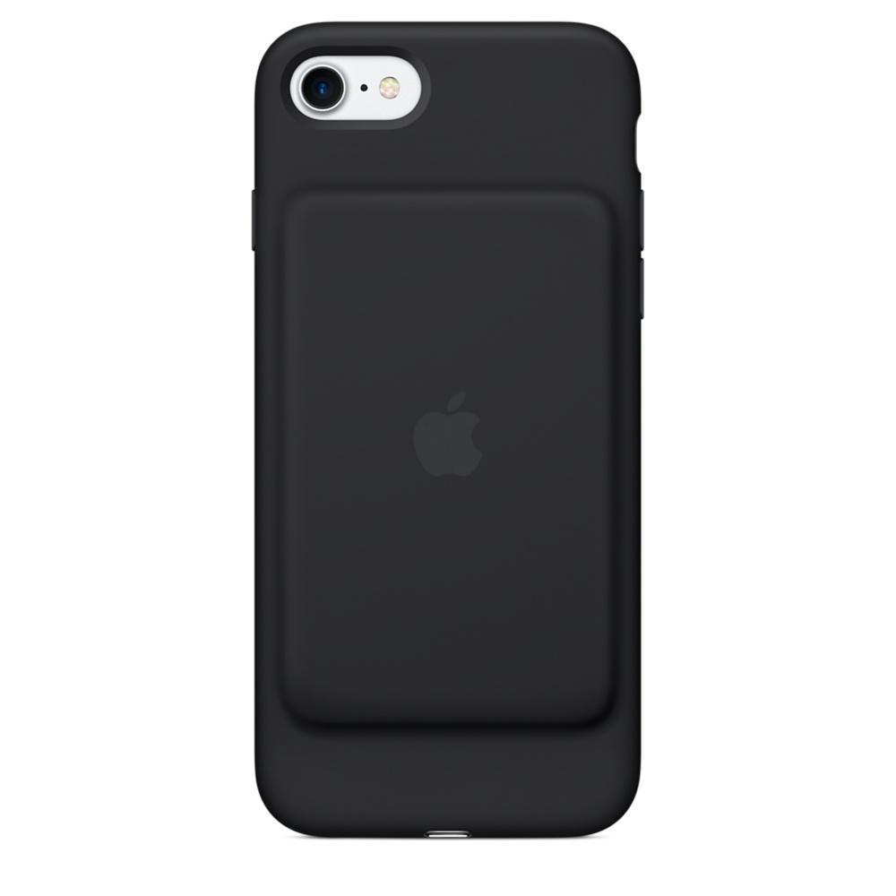 Husa Apple Smart Battery Case pentru iPhone 7 Black