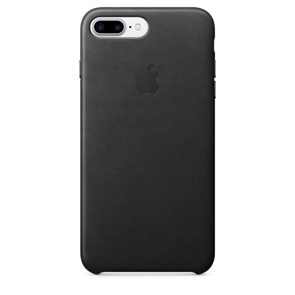Husa Apple Leather Case pentru iPhone 7 Plus Black