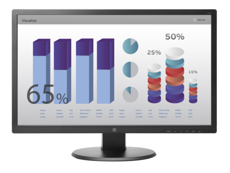 Monitor LED HP V243 24 inch Full HD Black