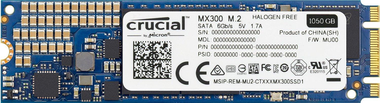 Hard Disk SSD Crucial MX300 1TB M.2 2280