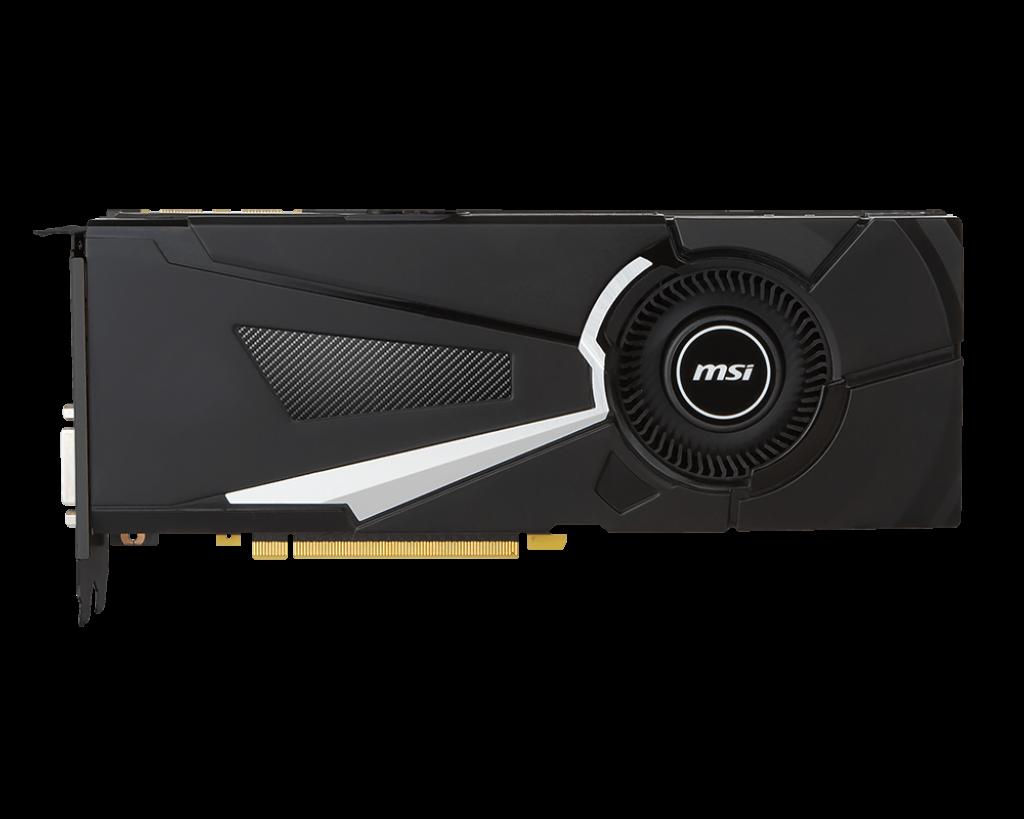 MSI GeForce GTX 1080 OC 8GB GDDR5X (256 Bit) HDMI DVI 3xDP