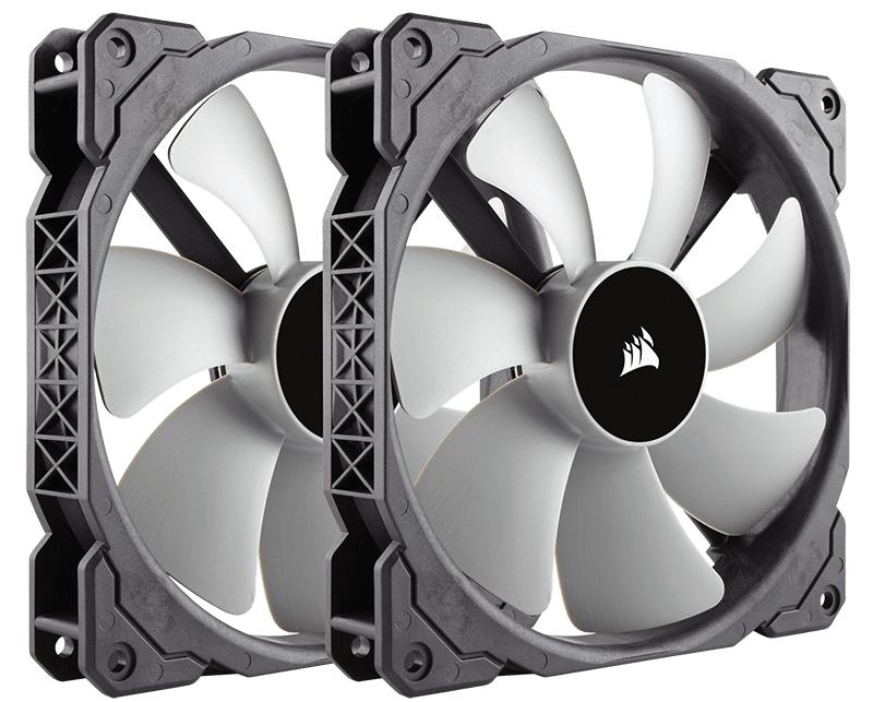 Ventilator Corsair ML140 140mm Premium Magnetic Levitation Twin Pack