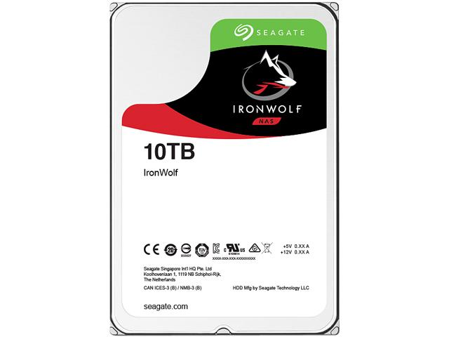 Hard Disk Desktop Seagate IronWolf 10TB 7200RPM 256MB SATA III