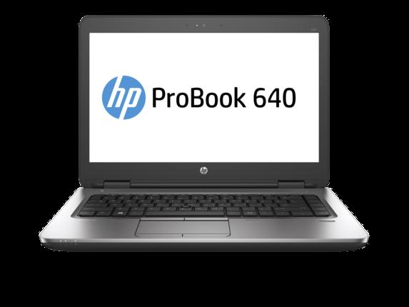 Notebook HP ProBook 640 G2 14 HD Intel Core i3-6100U RAM 4GB HDD 500GB Windows 7 Pro / 10 Pro