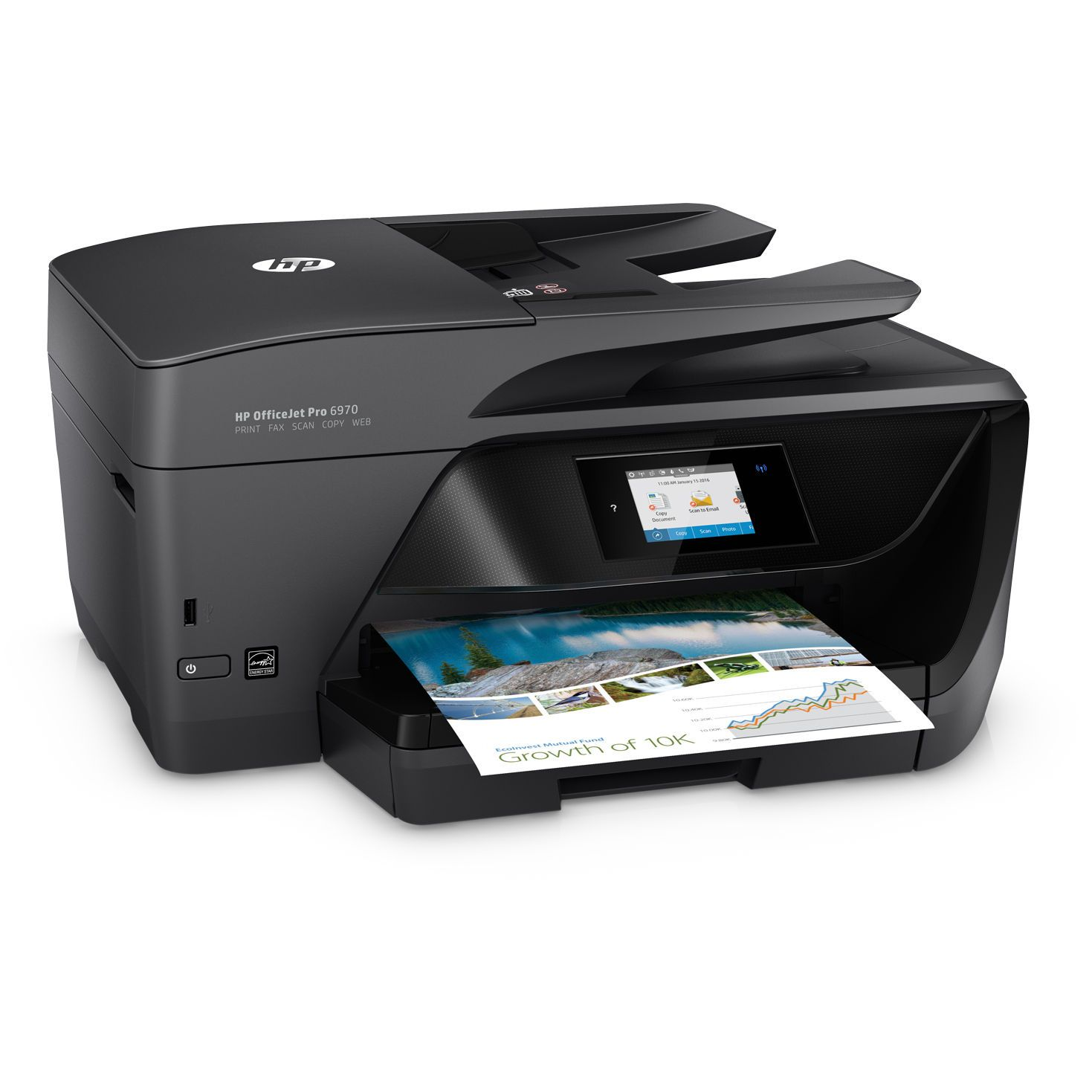 Multifunctional Inkjet Color HP OfficeJet Pro 6970 All-in-One